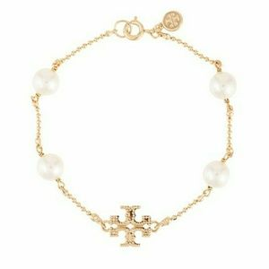 Tory Burch milgrain pearl bracelet